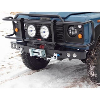BRUSH BAR FOR DEFENDER WINCH BUMPERS