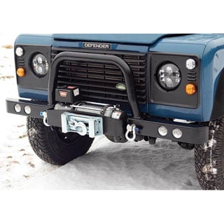 A BAR FOR FRONT BUMPER DEFENDER