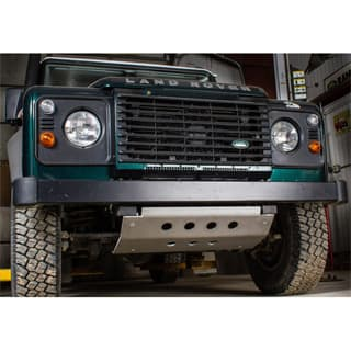 ROVERS NORTH ALLOY  FRONT SKID PLATE DEFENDER LHD