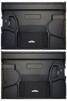 INTERIOR FRONT DOOR PANEL SET - RH+LH - FOR DEFENDER 90 AND SERIES III