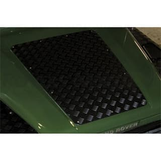 Bonnet Protection Plate Defender Up To 2007 Black
