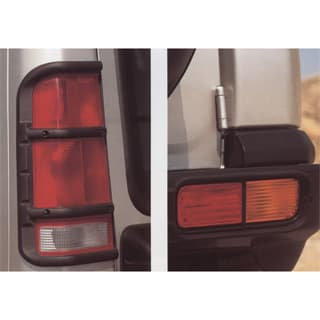 LAMP GUARDS REAR SET OF 4 DISCOVERY II PLASTIC