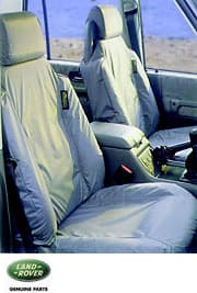 Seat Covers - Front Pair - Discovery II Grey