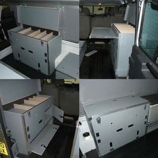 EXPEDITION CABINET W/ SLIDE TABLE