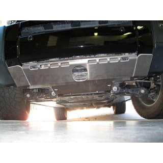 SUMP GUARD LR3 8mm ALUMINUM-NON WINCH