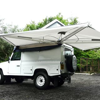 EXPEDITION AWNWING WITH COVER  sc 1 st  Rovers North & Tents u0026 Storage | Rovers North - Land Rover Parts and Accessories ...