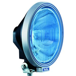 HELLA Rallye 3000 Blue Single Driving Lamp with Position Lamp