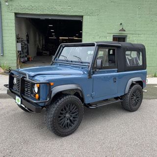 Soft Top NAS 90  Black
