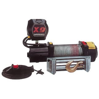 SUPERWINCH X9 w/ ROLLER FAIRLEAD