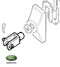 CLEVIS ASSEMBLY - TRANSMISSION BRAKE EXPANDER SERIES II-III