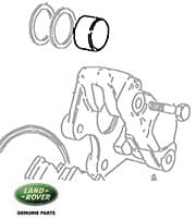 PISTON REAR BRAKE CALIPER RRC & DISCOVERY I