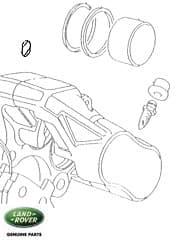 Seal - Front Brake Caliper
