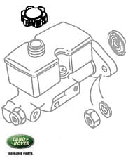 Cap - Brake Master Cyl - Range Rover Classic  Lockheed