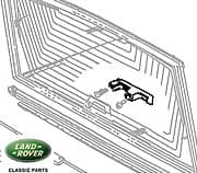 Handle Assm - Rear Liftgat - R/R Clc, From Ka351033