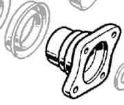 DRIVE FLANGE DIFF PINION