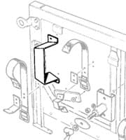 Bracket - Shovel Support -