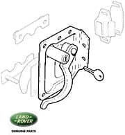 Door Latch Assy w/Lock  RH Series IIA