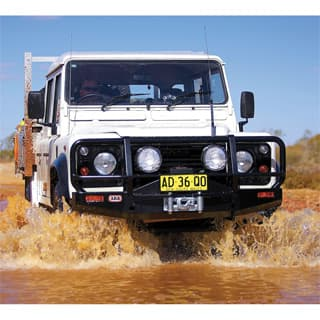 ARB Original Defender Winch Bumper