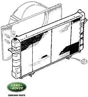 Radiator - V-8 Manual Discovery