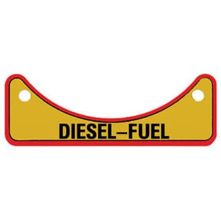 Label Diesel Fuel