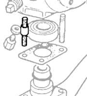 Stud Sph Bottom Wide Center Ser IIA-III