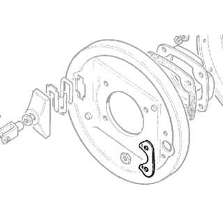 Locker - Trans Brake Adjuster Series IIA & III New/Old Stock