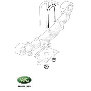 "U Bolt - 88"" Front Short (3 Required)"