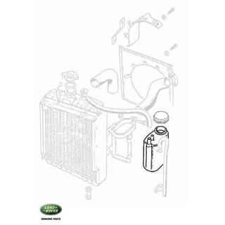 Bottle - Coolant Overflow Series IIA & III