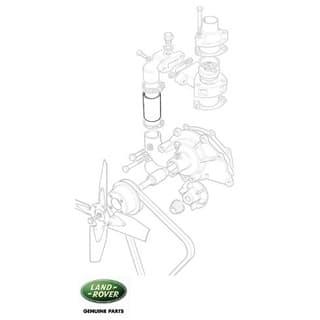 Radiator Hose - Thermostat Bypass Series II-III