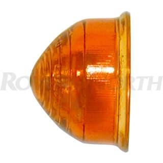 Lens Directional Amber Glass Beehive Series IIA