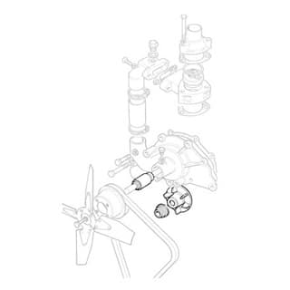 WATER PUMP KIT - 2.6L NADA - NO LONGER AVAILABLE