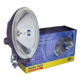 Hella 500 Clear Driving Lamp Kit