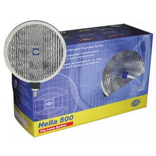 Hella 500 Clear Fog Lamp Kit