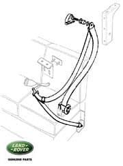 Reel Assy Seatbelt 109,110 S.W. Front LH