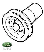 Front Crank Pulley 2.25 Liter Petrol