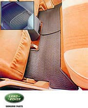RUBBER FLOORMATS SET OF 4 P38A RANGE ROVER