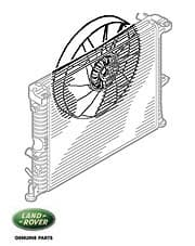 Cooling Fan V-8 EFI P38a & Discovery II