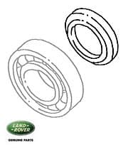SPACER FRONT OUTPUT BEARING LT230