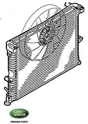 Discovery II Radiator