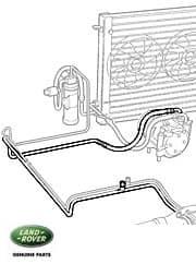 Pipe - A/C Evap-Conpressor P38a From Va346794-Wa4104