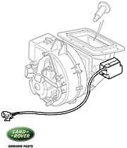 Motor Assm - Heater Blend P38a
