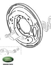 Transmission Brake Backing Plate Defender