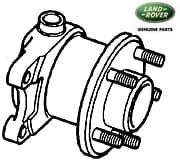 HUB ASSEMBLY - REAR AXLE - P38A