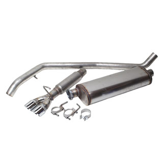 Nrp Performance Exhaust, Rear Range Rover P38a 4.0 & 4.6 Litre V8 1996 - 2002