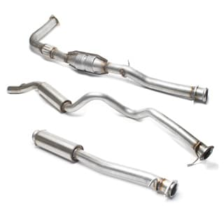 STAINLESS STEEL  EXHAUST SYSTEM 300Tdi 110