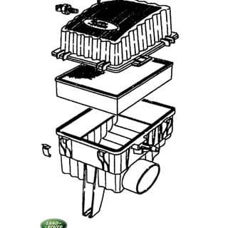 Air Cleaner Assembley Range Rover P38a