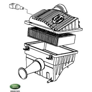 Air Cleaner Assembly 3.9L Range Rover Classic, Discovery I