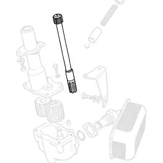 DRIVE SHAFT - OIL PUMP 4CY