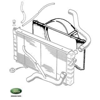Cowl - Radiator Upper 4.0 Litre
