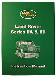 Owners Manual Series IIA